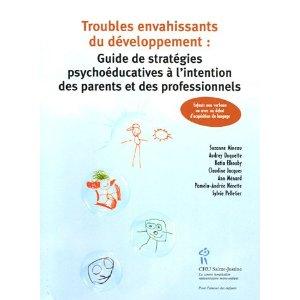 Couverture d'ouvrage: TED : guide de stratégies psychoéducatives