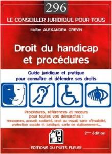 Couverture d'ouvrage: Droit du handicap et procédures : Guide juridique et pratique